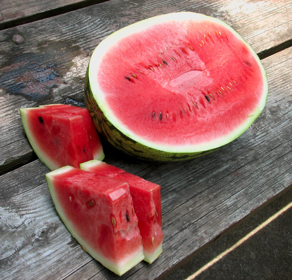 How many calories are in the watermelon and how useful is it