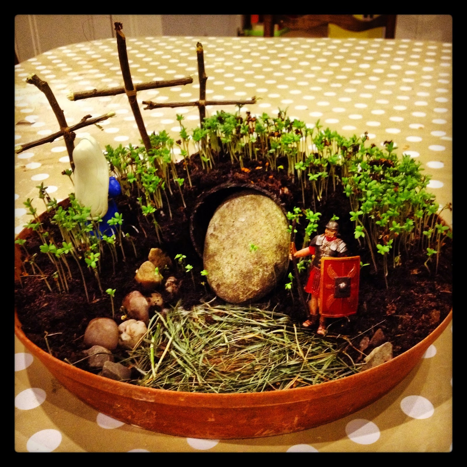 Scenic Culture Baby Ten Great Easter Activities For Tots With Engaging In The Same Post I Also Talked About How Much We Enjoyed Creating Our Own  Resurrection Garden For Holy Week Complete With Live Cress As Grass And  Model  With Lovely Garden Mirrors With Shutters Also Ladies Gardening Trousers In Addition Garden Route Map And Royal Garden Ala Moana Menu As Well As Garden Candle Lanterns Additionally Garden Stepping Stones Uk From Culturebabynet With   Engaging Culture Baby Ten Great Easter Activities For Tots With Lovely In The Same Post I Also Talked About How Much We Enjoyed Creating Our Own  Resurrection Garden For Holy Week Complete With Live Cress As Grass And  Model  And Scenic Garden Mirrors With Shutters Also Ladies Gardening Trousers In Addition Garden Route Map From Culturebabynet