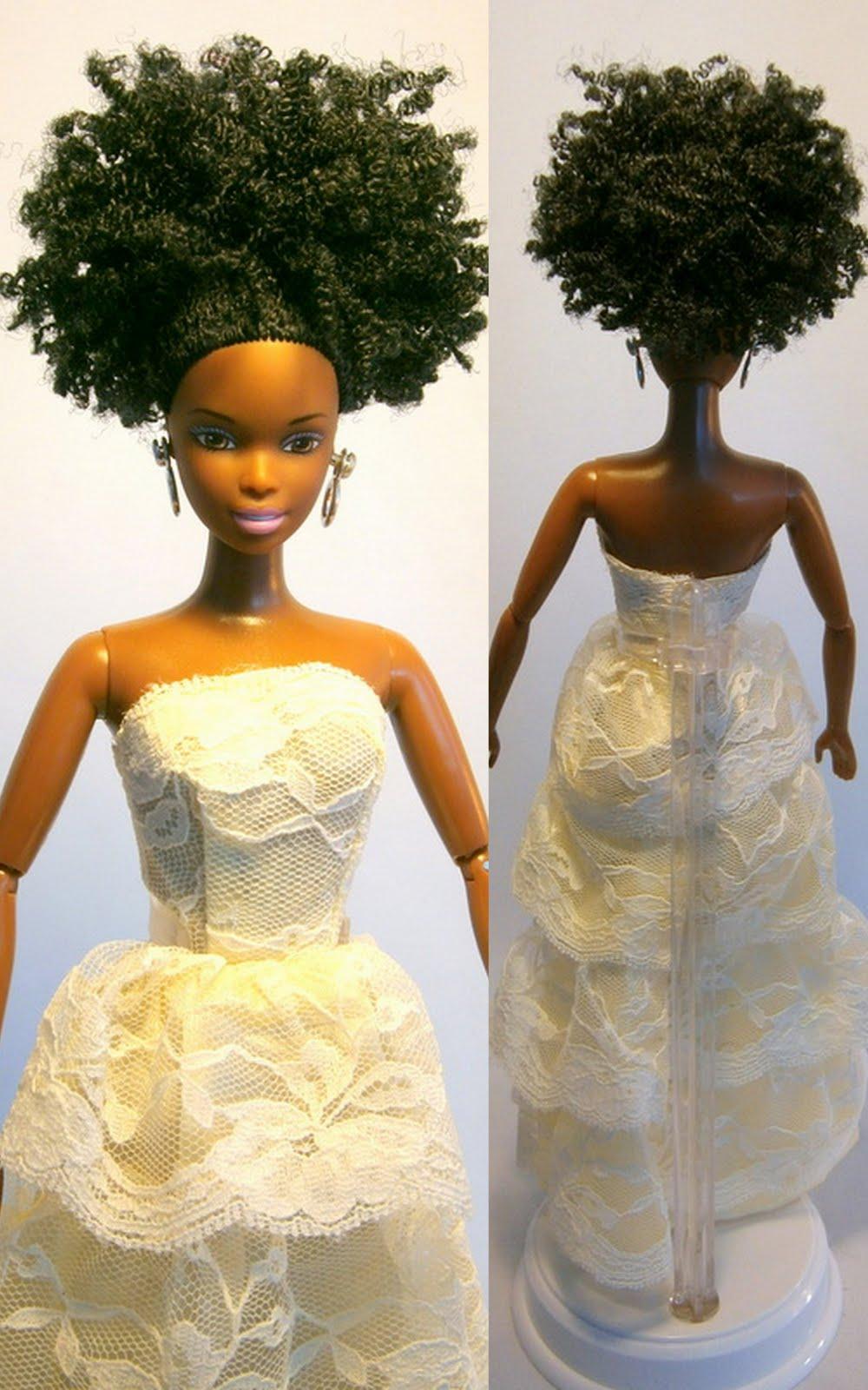 Natural Hair Dolls Sisterlocked