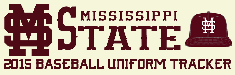 Mississippi State Baseball Uniform Tracker