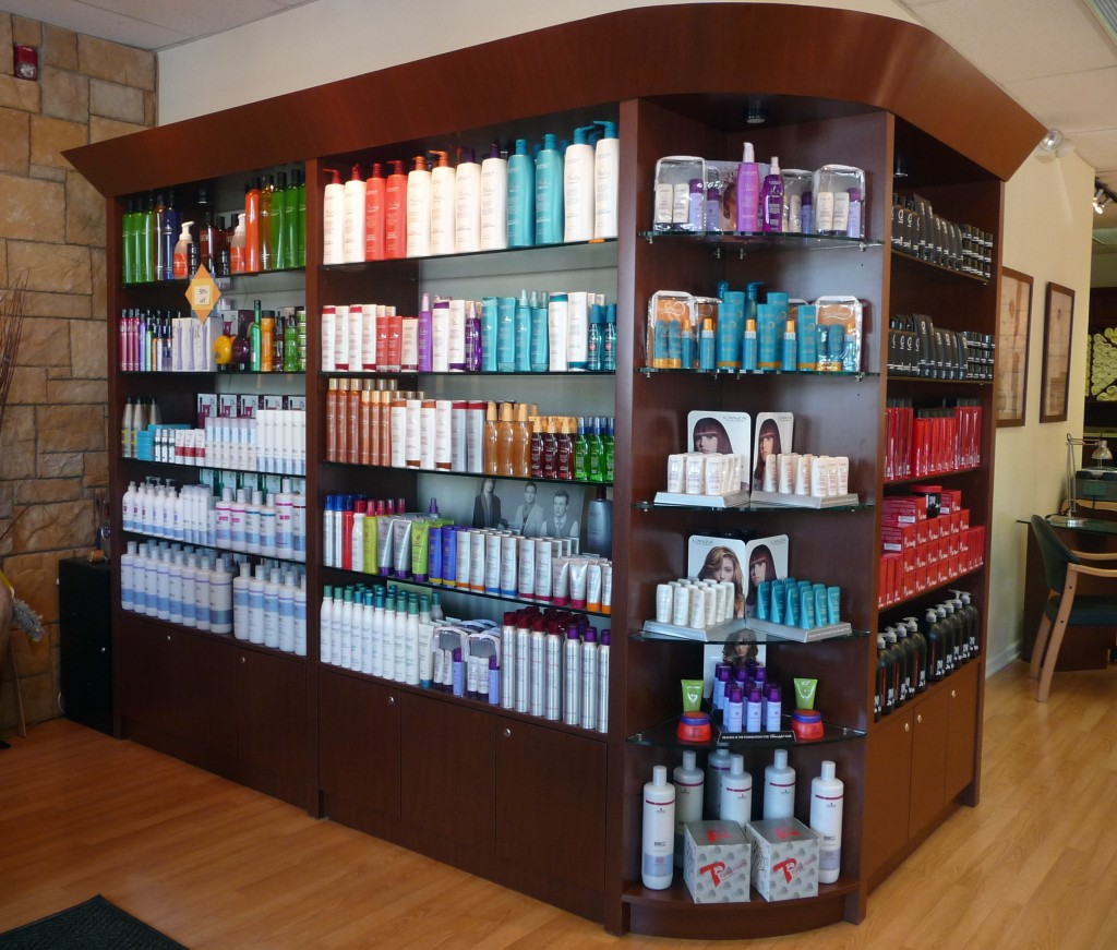 hair products used in salons