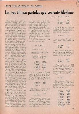 Ajedrez Español nº 109 – enero 1951, página 19