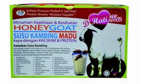 HONEYGOAT SUSU KAMBING MADU