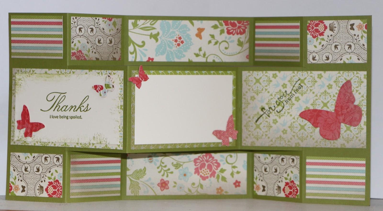 Not a Nag: Butterfly Tri-fold Card - contact me for pricing and ...