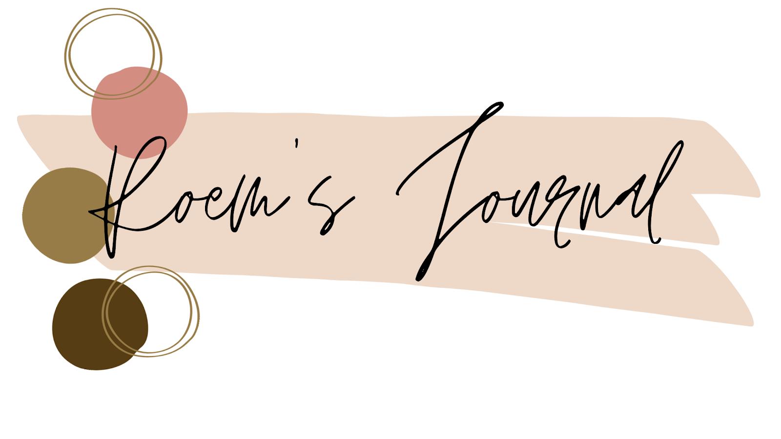 Roem's Journal