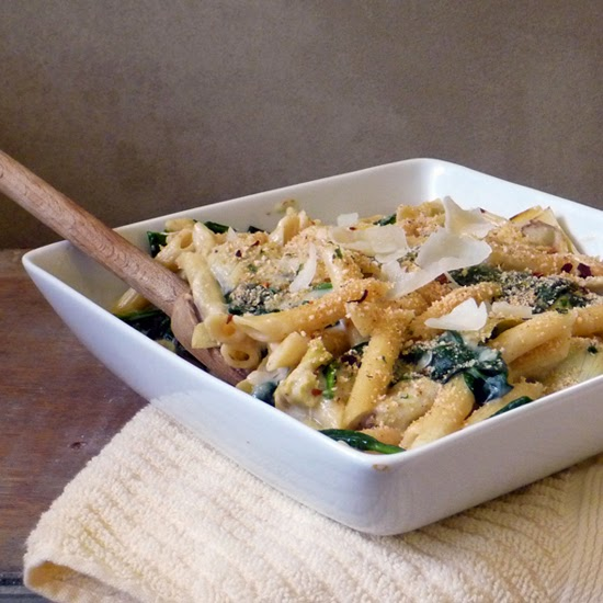 Spinach Artichoke Pasta Recipe | by Life Tastes Good