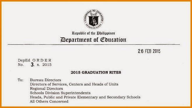 Graduation Rites 2015