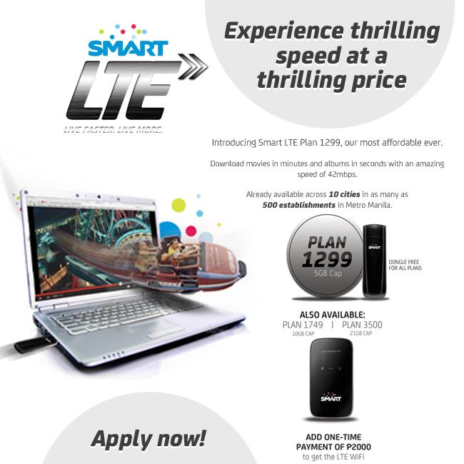 Smart Lte Broadband Plan 1299 The Most Affordable Plan