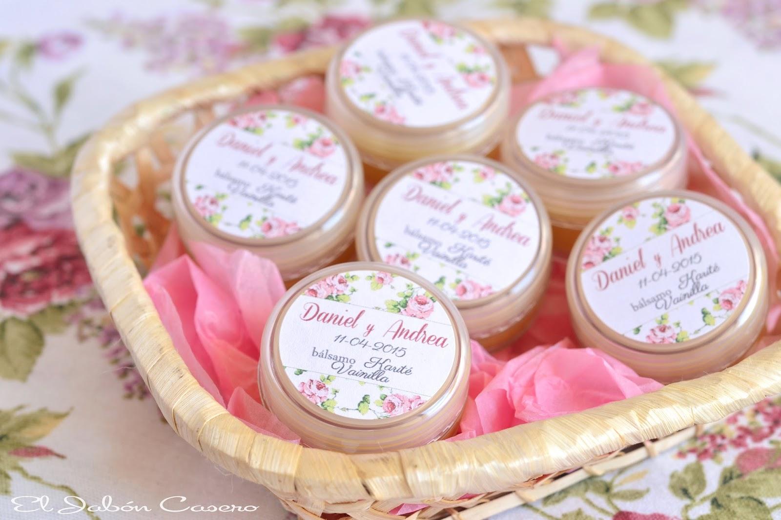 detalles de boda balsamos de vainilla