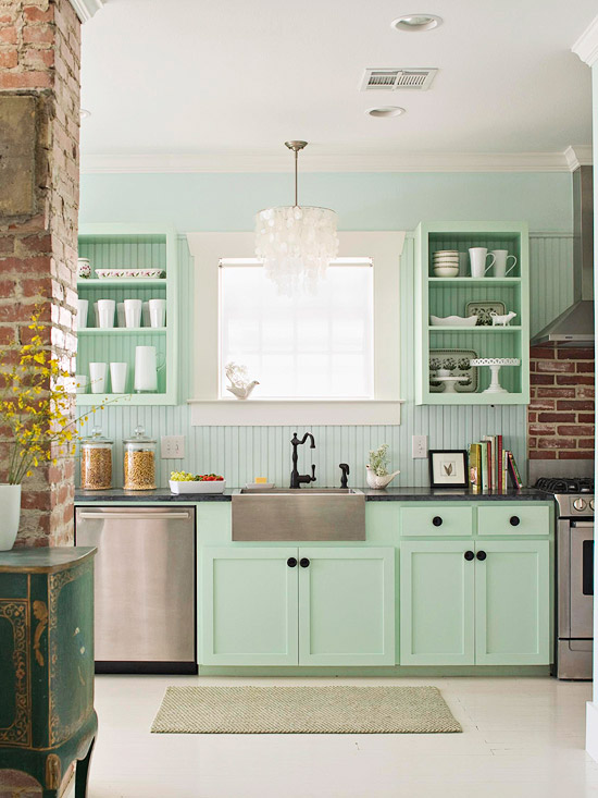want open shelving in your kitchen