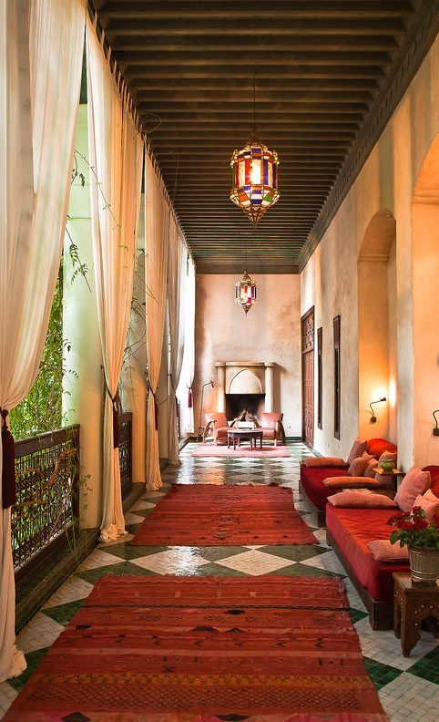 riad con encanto en marrakech
