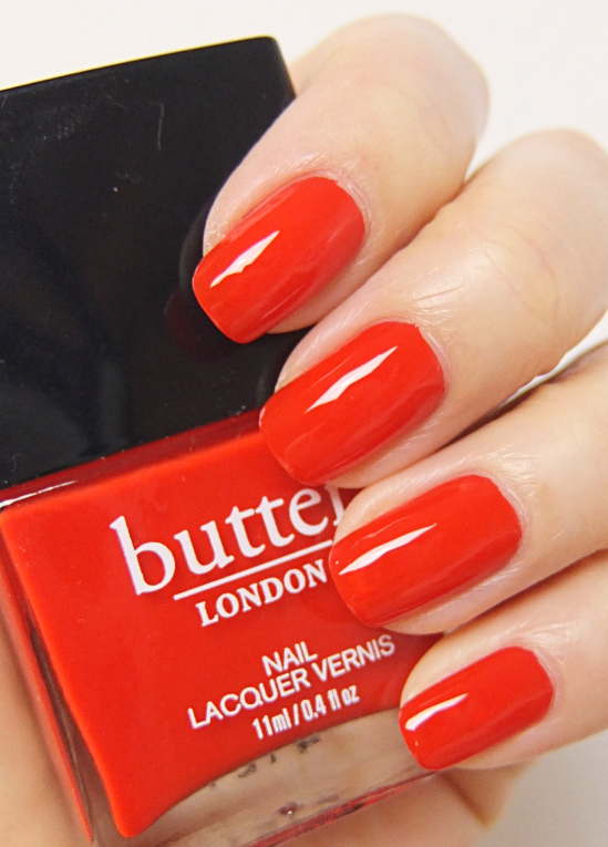 Butter London Nail Lacquer Ladybird | Lenallure