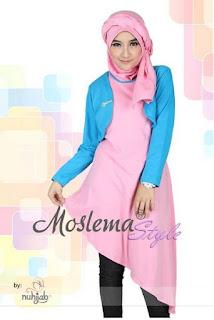 Aneka Baju Muslim Kaos Lebaran untuk Remaja