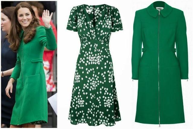 Catherine Duchess Of Cambridge In Suzannah Dress Amp Erdem
