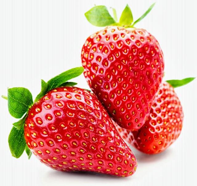 Las fresas son una importante fuente de Vitamina C