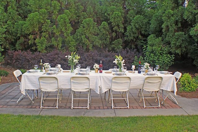 Louisiana Dinner Party Table | Cordier Event Planning