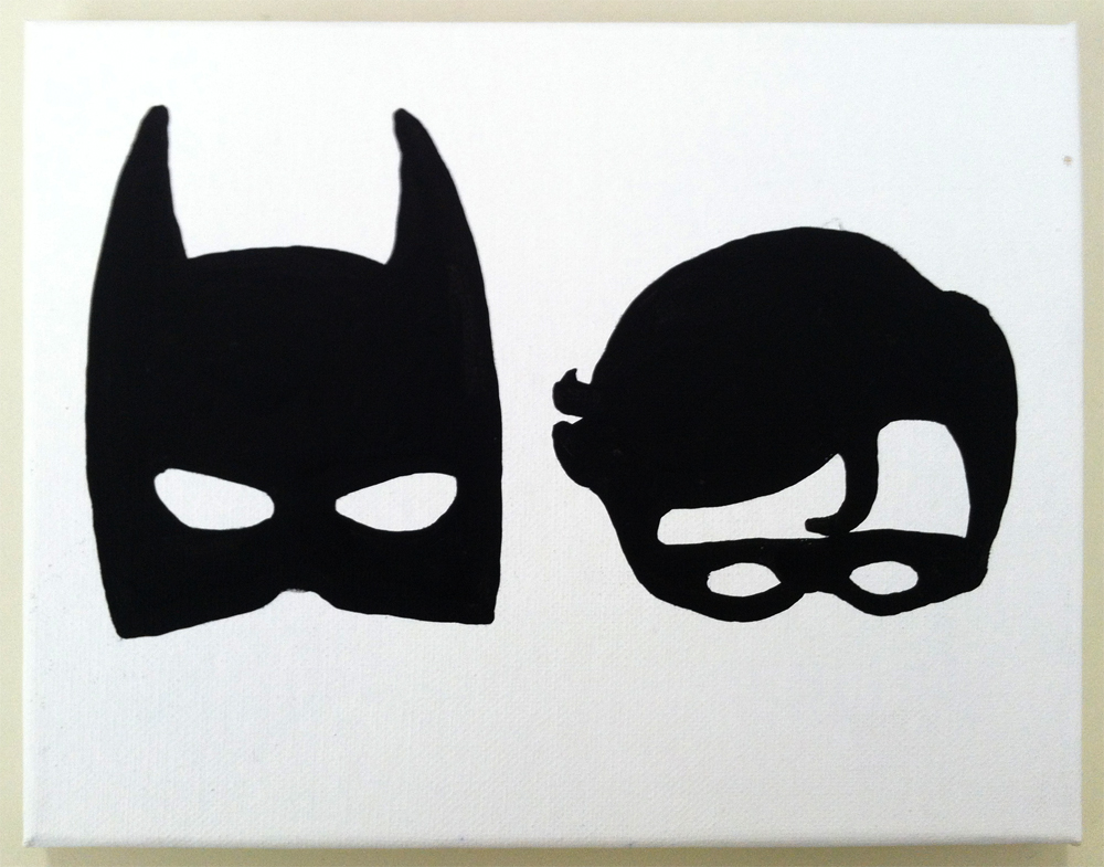 Gallery For gt Batman And Robin Outline