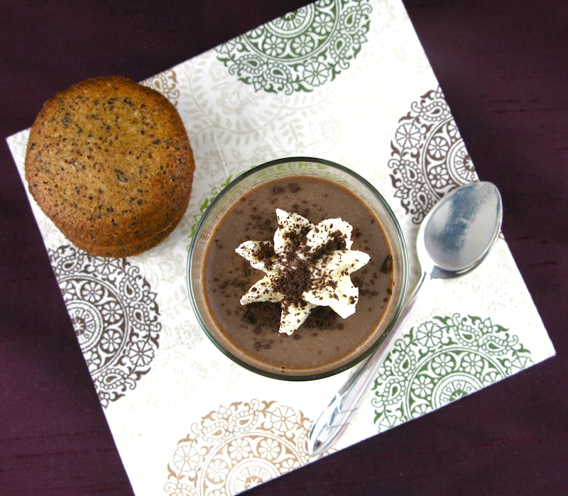 ... feast: CHOCOLATE CINNAMON PANNA COTTA & CHOCOLATE HAZELNUT FINANCIERS