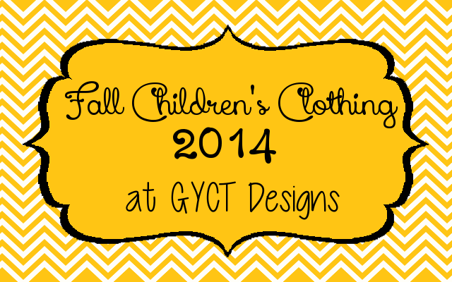 Fall Clothing Series at GYCT Designs
