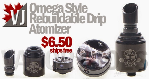 Omega Style Rebuildable Dripping Atomizer