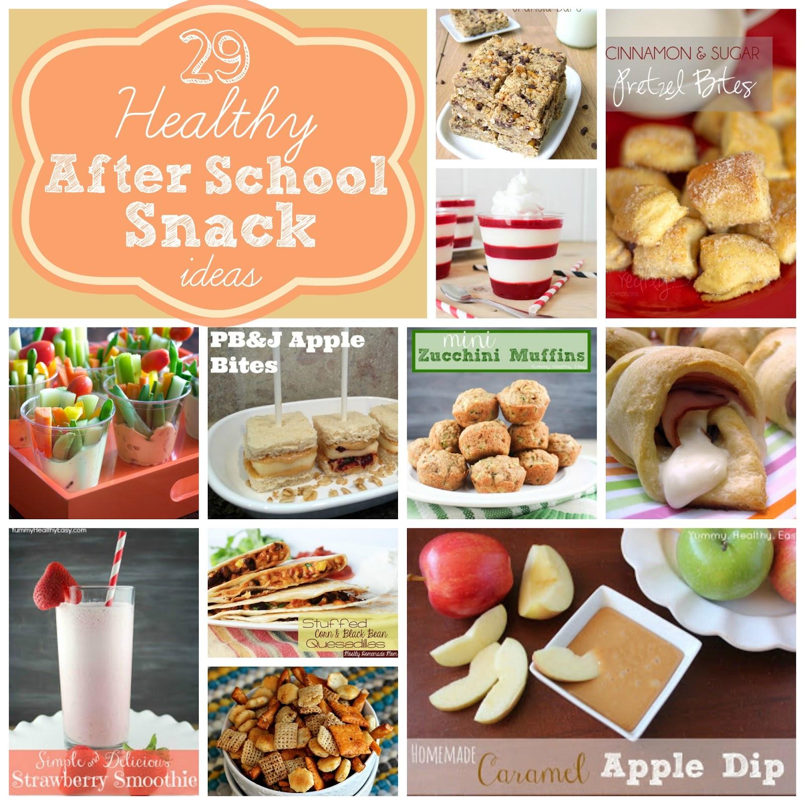 29 healthy after school snack ideas! - yummy healthy easy