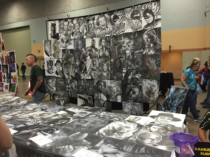 wizard world comic con des moines artwork