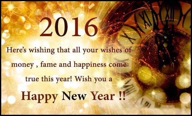 happy new year wishes greeting cards 2016 for friends