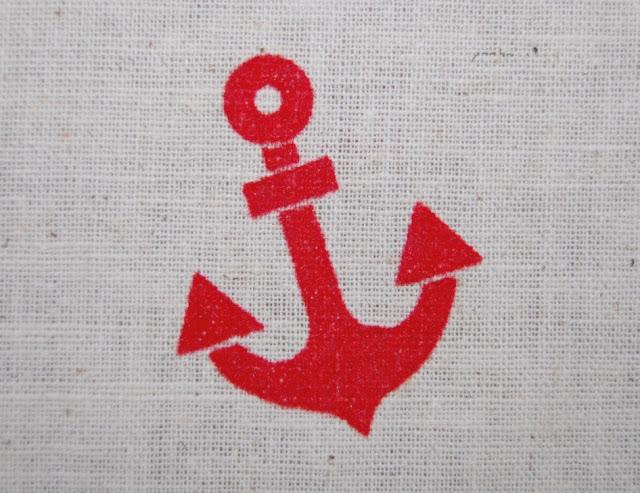 Nautical Anchor Fabric