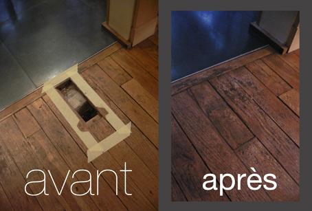 r parer une latte de parquet pierre paris. Black Bedroom Furniture Sets. Home Design Ideas