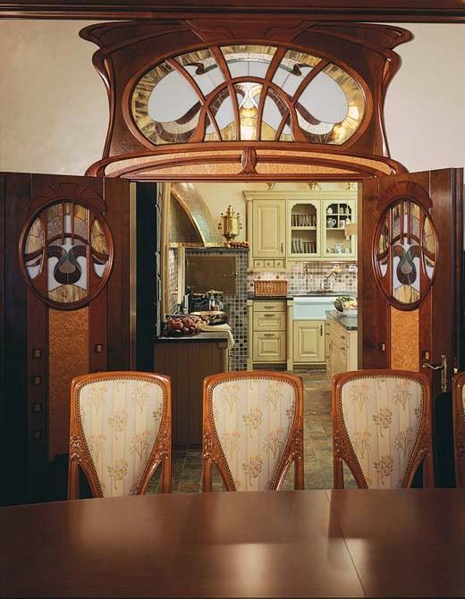 Loveisspeed art nouveau style house villa liberty for House interior design near me