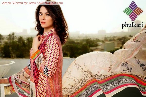 Phulkari Winter suit collection 2014