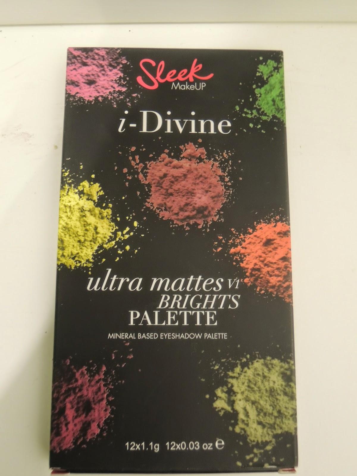 Jasne lepsze niż ciemne? Sleek Ultra Mattes V1 Brights