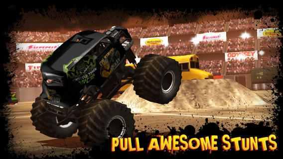 تحميل لعبة سباق السيارات Monster Truck Destruction للاندرويد والايفون