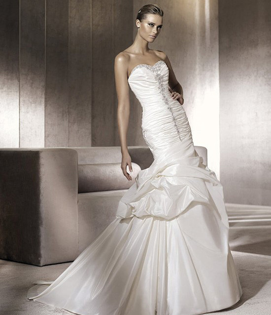 pronovias 2012 wedding dress collection bridal dresses