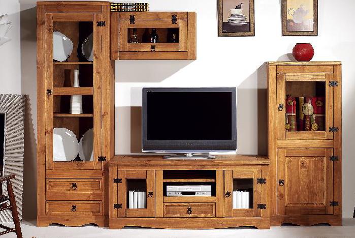 Muebles guadalhorce for Muebles rusticos de pino