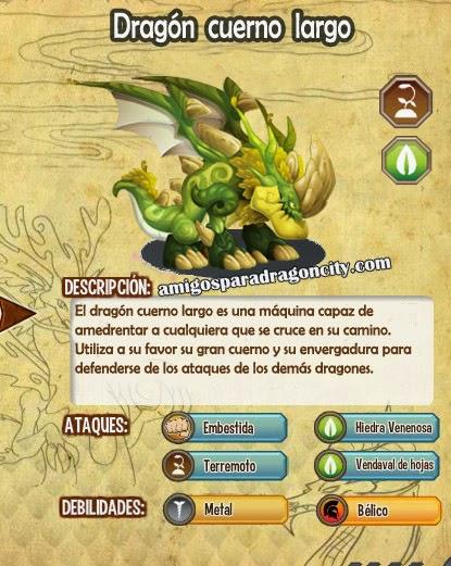 imagen de las caracteristicas del dragon cuerno largo