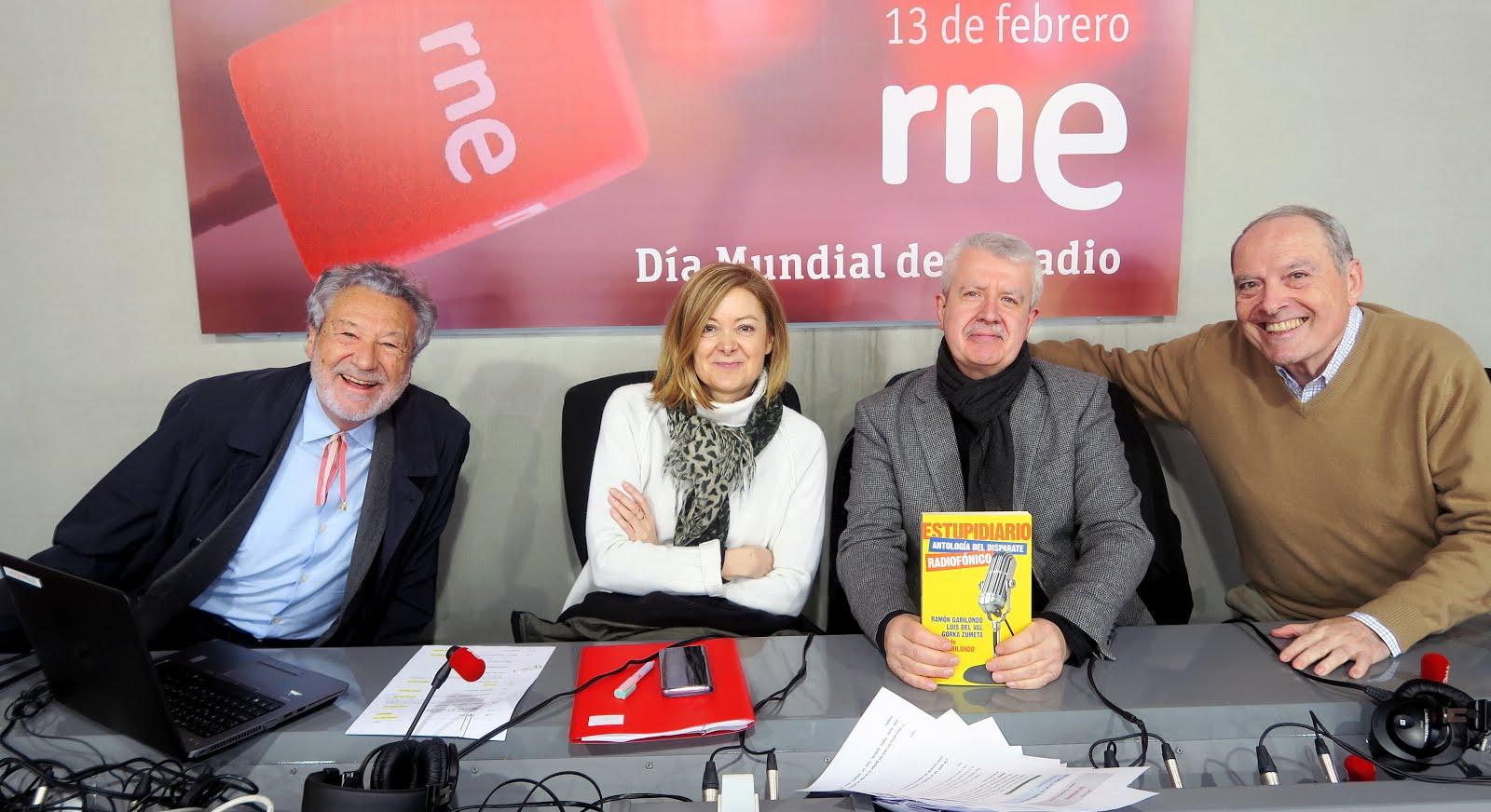 20 AÑOS DE 'ESTUPIDIARIO' EN RADIO NACIONAL