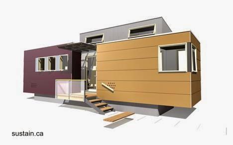 Arquitectura de casas mini casa m vil canadiense - Mini casas prefabricadas ...