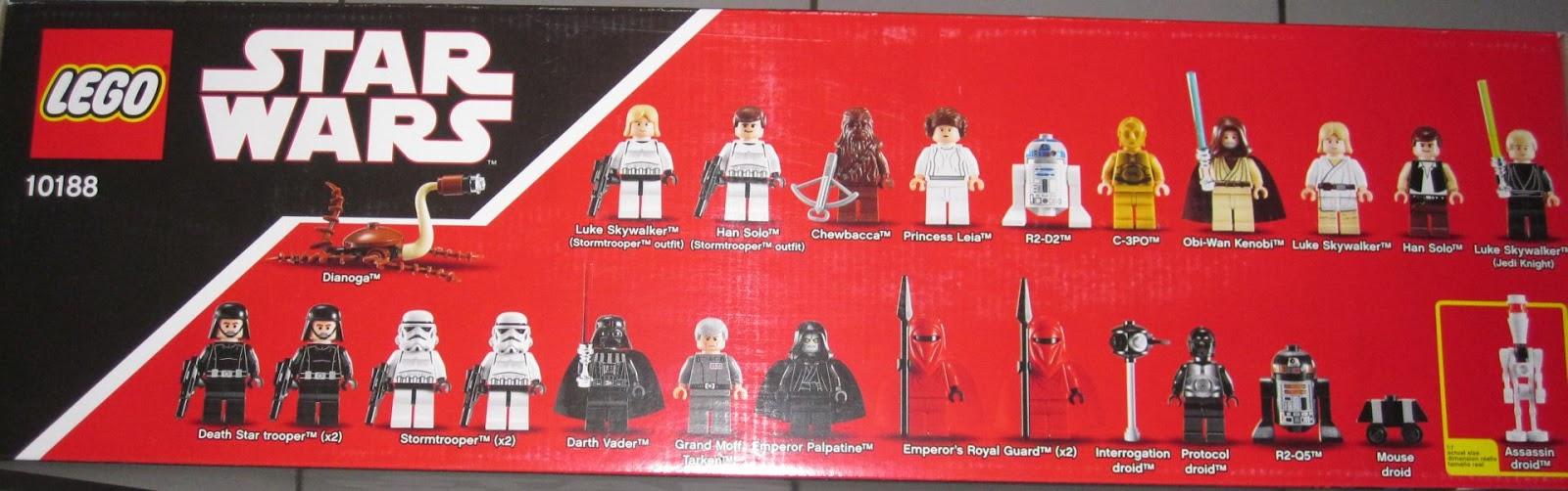 Lego star wars l 39 toile noire - L etoile noire star wars ...