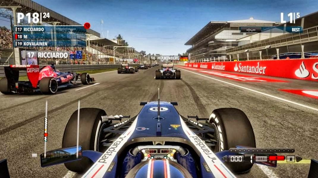 Video game f1 2012 hd wallpapers
