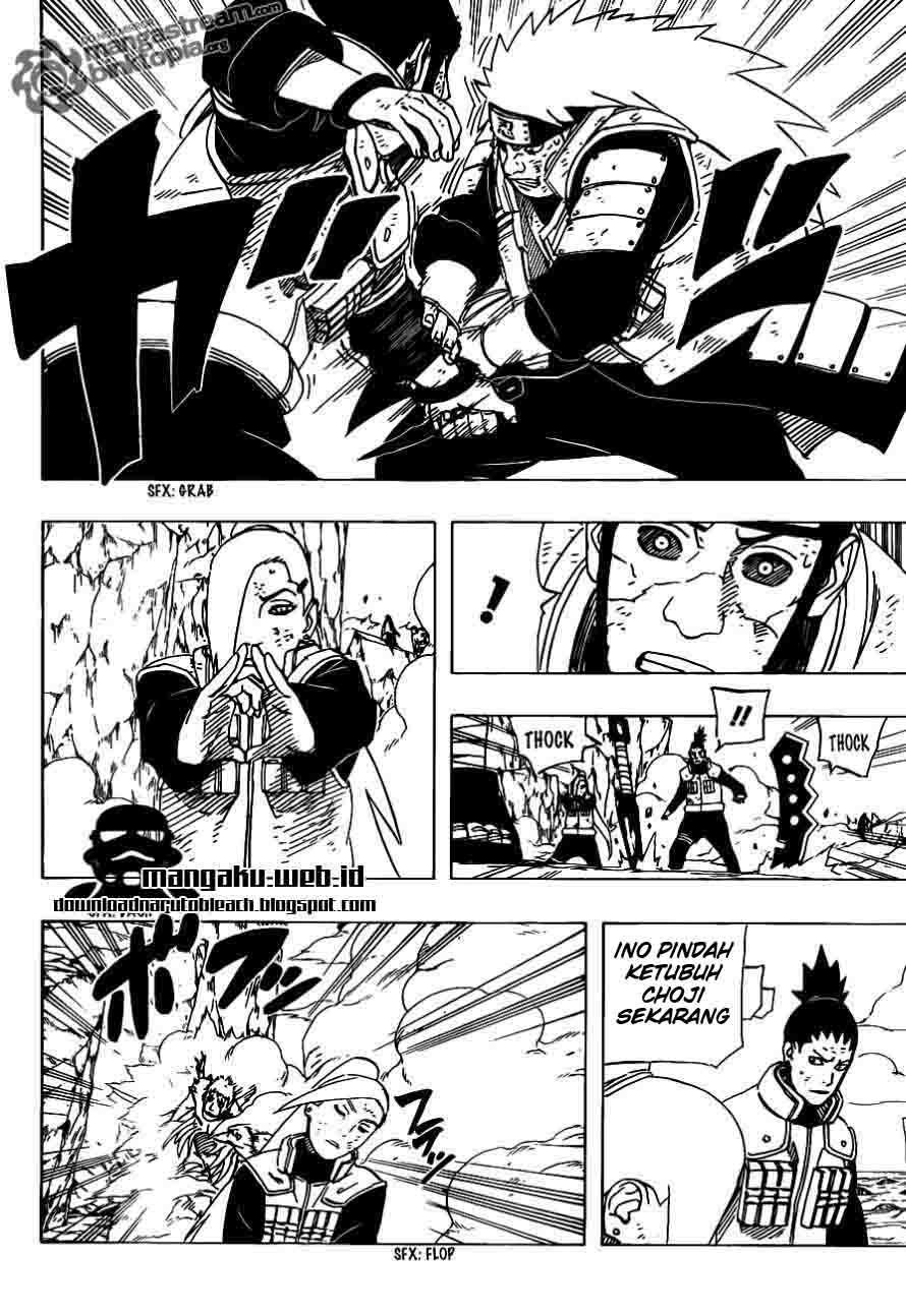 Naruto 533 page 6