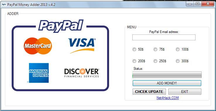how to get money in your paypal account today