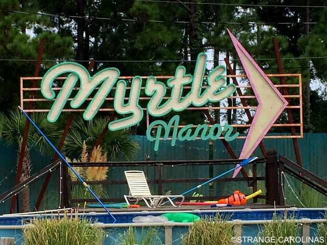 This Is The Filming Location Of TLCs Welcome To Myrtle Manor And Also A Place Where Cast Non Live Its Trailer Park In Beach That