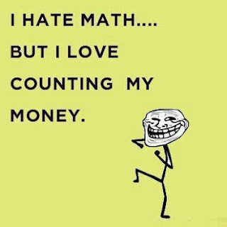 Quotes I hate math but I love
