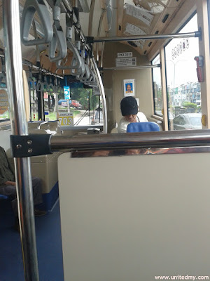 Rapid Bus from Sunway Carnival Mall to Jetty