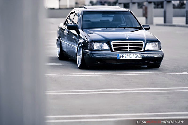 mercedes benz c280 w202 on amg aero benztuning