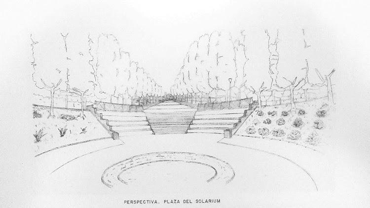 proyecto parque las desueltas boadilla del monte madrid croquis plaza