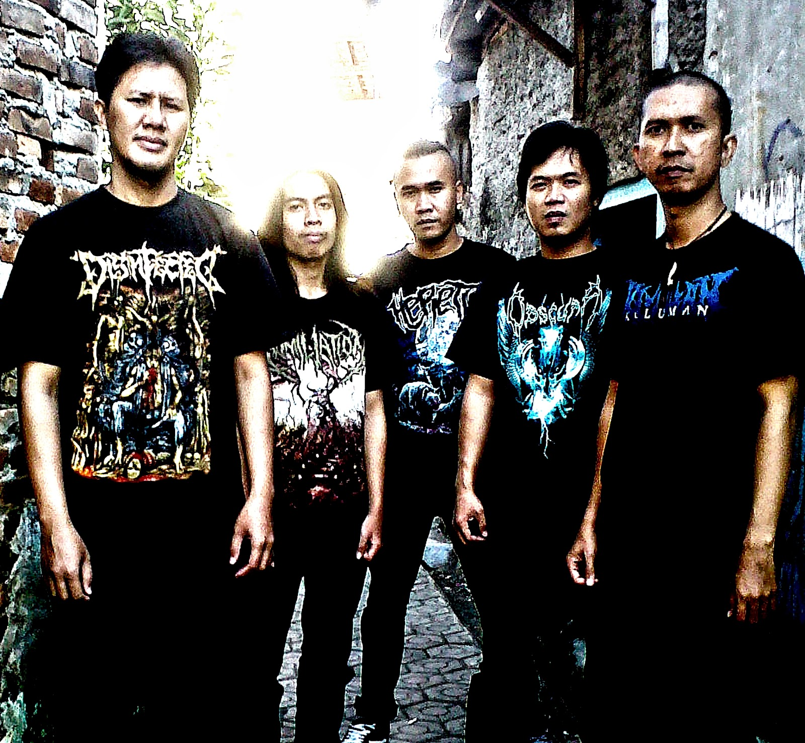 Busuk Webzine Old Site Interview Exclusive With Disinfected At Tendencies Tshirt Future Punk Hitam L Adyth 1997 November 2th First Line Up Is Me Guitar Sigit Bass Ameng Vocal Abah Andris Burgerkill Drum And Upick Melted