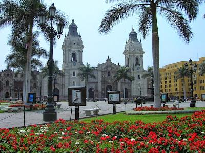Catedral de Lima, Perú, La vuelta al mundo de Asun y Ricardo, round the world, mundoporlibre.com