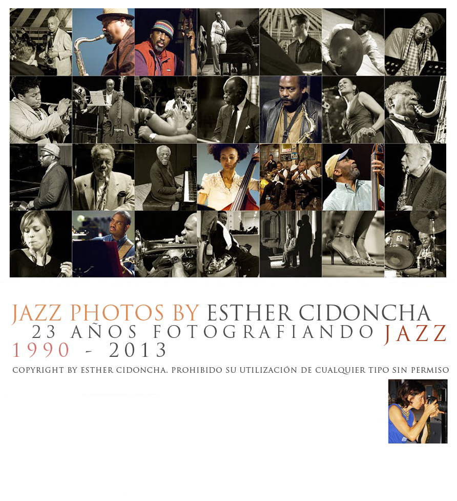Esther Cidoncha - Jazz Photographer - Fotografas de Jazz